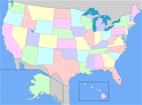 usa map of states quiz u s state nicknames map quiz by evcal184