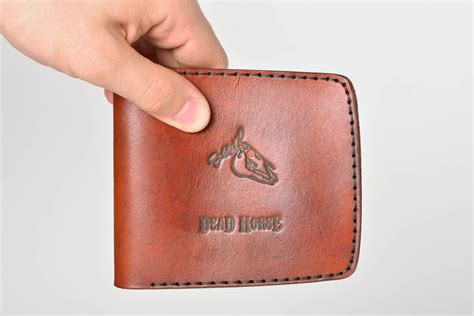 madeheart gt mens designer wallet handmade leather wallet