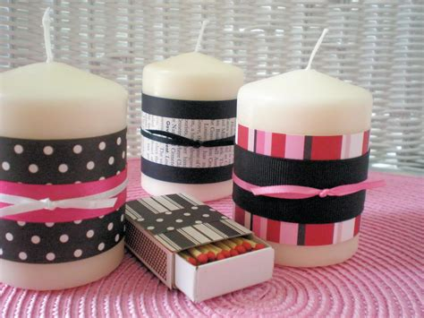 candle crafts for craft decorated candles and matches mothers day