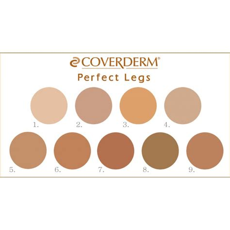 Make Up Tje coverderm legs make up 50ml covering make up for the and legs