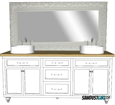 Plans For Bathroom Vanity by How To Build Diy Bathroom Vanity Plans Pdf Plans