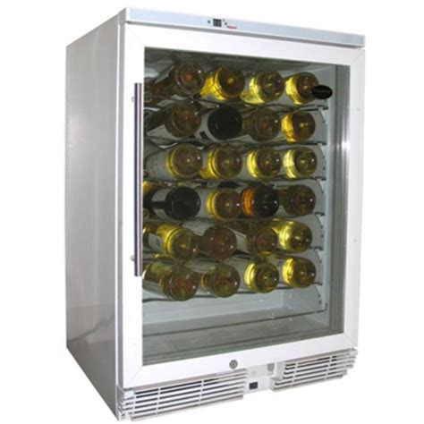 under wine chiller under counter 58 bottle wine chiller in wine coolers