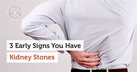 the kidney stone symptoms in women 3 early signs you have kidney stones