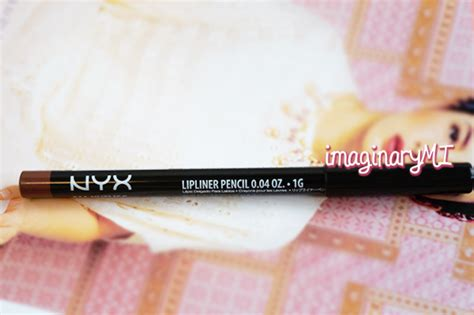 Lipstik Nyx Di Singapura review nyx lipliner pencil nutmeg imaginary friend