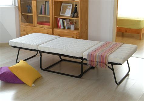 ottoman bed with mattress convertible ottoman folding bed with white mattress and