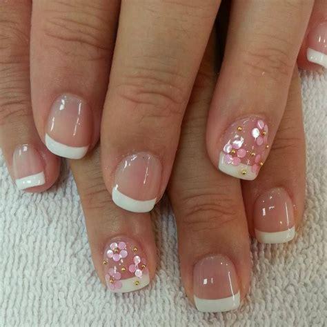 easy nail art gel simple french nail designs for short nails nail art