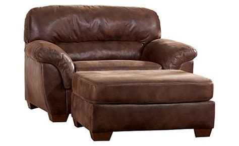 Big Comfy Chair And Ottoman Armchairs Furniture And Ottomans On Pinterest
