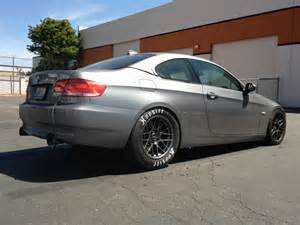 2007 space gray bmw 335i vishnu fftec single turbo