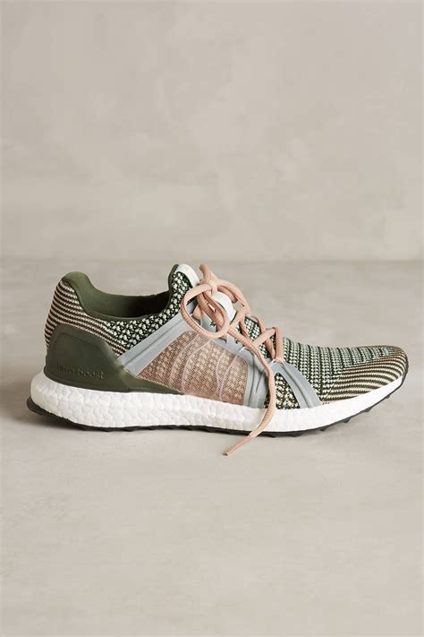 stella mccartney sneakers lyst adidas by stella mccartney via sneakers in green