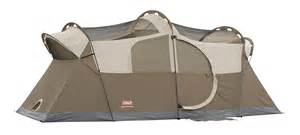 new coleman weathermaster screened 10 person two room tent