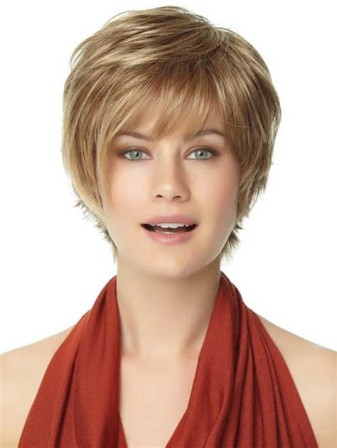 haircuts at your home short hairstyles for round faces women s fave hairstyles