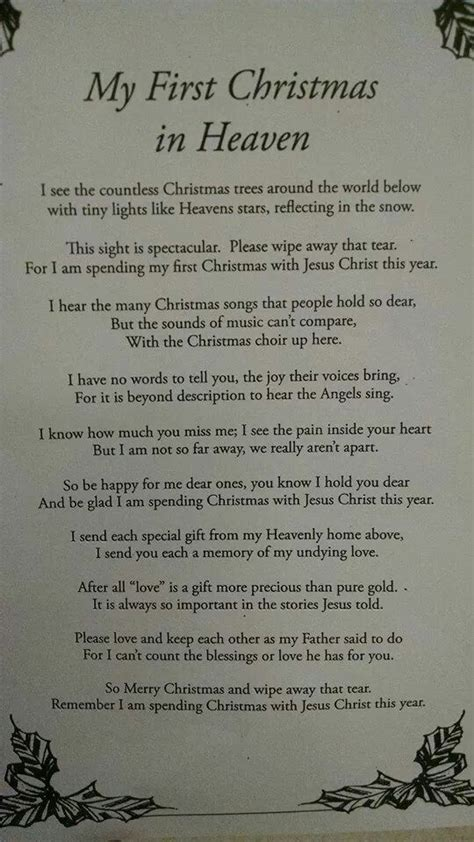 christmas  heaven mom  heaven quotes christmas  heaven christmas  heaven poem