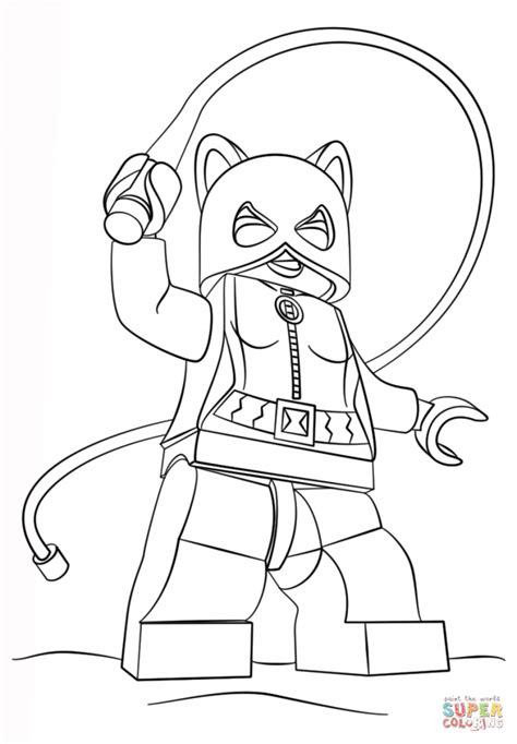 Wyldstyle Coloring Pages 924 Lego Wyldstyle Coloring