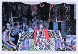 Tete De Lit En Tissus 1561 by Togo
