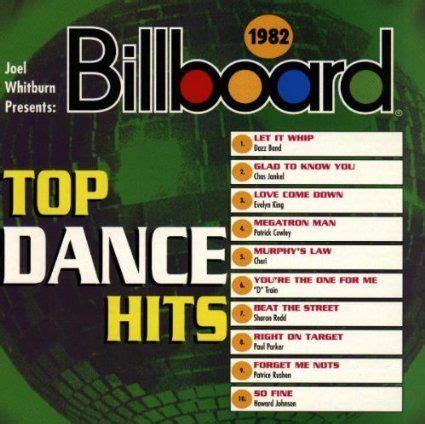 billboard top dance hits  vintage
