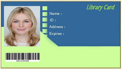 library card template editable free editable blank library card template emetonlineblog