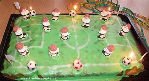 fussball kuchen rezept fussball kuchen kinderrezepte de
