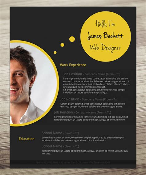 design design unique resume and 30 outstanding resume designs you wish you thought of
