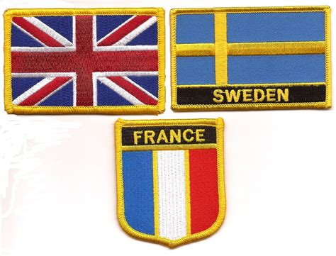 flags of the world patches flag patches world flag patches embroidered flag patches