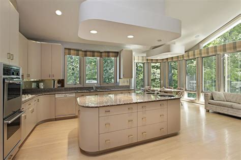 Kitchen Cabinets Around Windows Eclectic Mix Of 42 Custom Kitchen Designs Island Kitchen And Large White