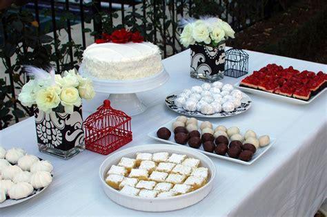 bridal shower dessert ideas bridal shower dessert table ideas photograph dessert table