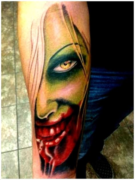 Tattoo Zombie Pictures | 40 zombie tattoo designs that scare to death