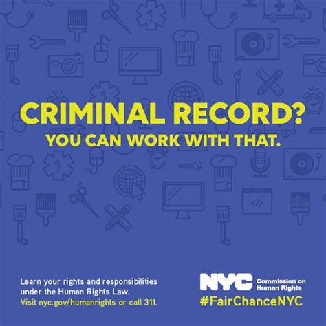 Can Employer Ask About Criminal Record Nyc Resources Programs City Of New York