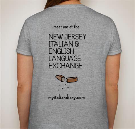 New Jersey Design Exchange | nj italian english language exchange official t shirt
