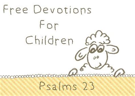 Printable Devotions For Youth