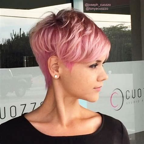 short bubble hairstyle for woman 10 daring pixie haircuts for women short hairstyle and