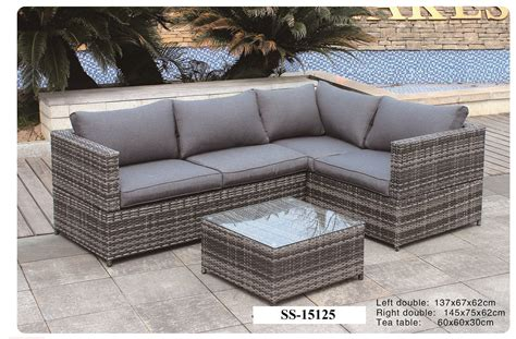 grey wicker sofa grey wicker patio furniture fresh gray