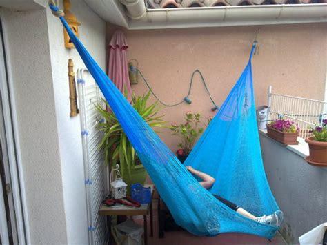 Hamac Balcon by Hamac Sur Balcon L Univers Du Jardin
