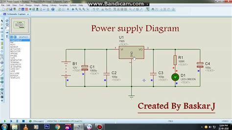 layout of power supply network power supply diagram youtube
