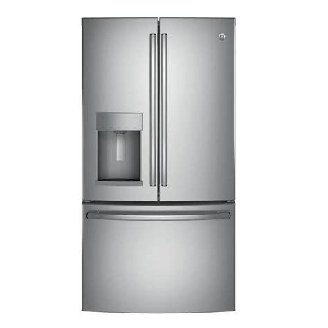 home depot counter depth door refrigerator ge 22 2 cu ft door refrigerator in slate counter