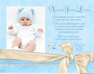 Azure baptism photo thank you card beautiful baby boy blessed