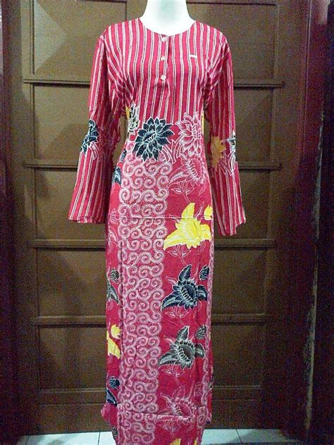 Dress Batik Mariana by Longdress Marina Grosir Batik Pekalongan Murah