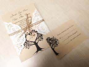 diy wedding invitation ideas diy country rustic lace wedding invitations at invitesweddings invitesweddings