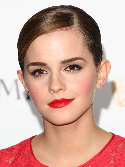 emma watson lipstick the 15 sexiest celebrity makeup looks of the moment