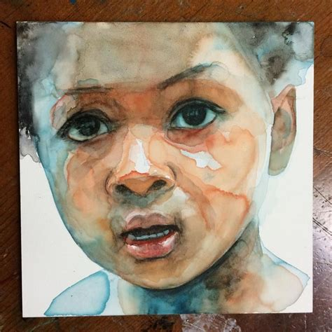watercolor tutorial face 17 best images about aquarel portret on pinterest