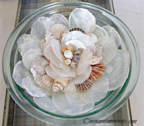 diy seashell centerpieces