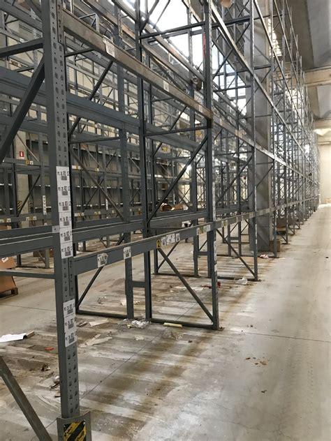scaffali portapallet usati scaffalatura portapallet usata bftm sga scaffalature e