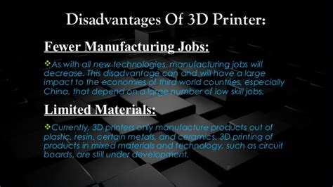 The Benefits Of 3d Printed 3d Printing Technology