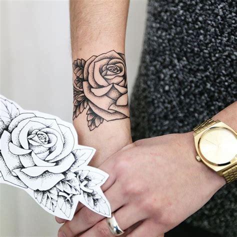 rose tattoo on wrist pinterest linework rose tattoo on wrist tattoos on women