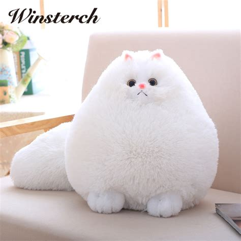 How To Keep Pillows Fluffy by Aliexpress Buy Plush Fluffy Cats Cat Toys Pembroke Pillow Soft Stuffed Animal