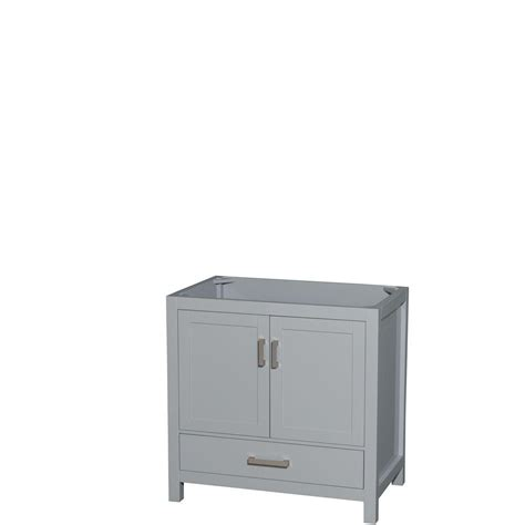 22 Vanity Cabinet by Wyndham Collection Sheffield 36 In W X 22 In D Vanity
