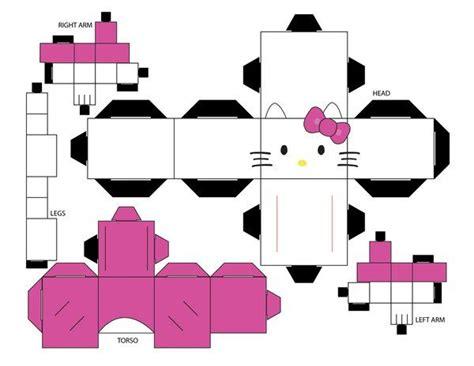 Papercraft Hello - hello cubee template by eliseisvain deviantart