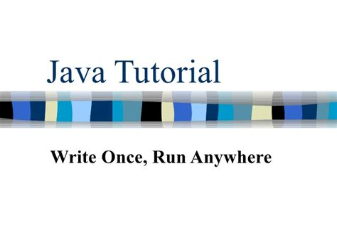 tutorial java jmf java tutorial