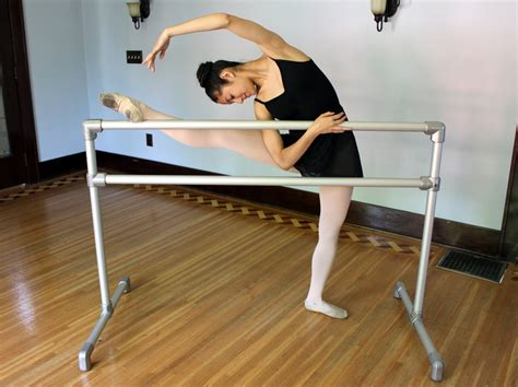 ballet barre in bedroom build your own ballet barre with aluminum pipe and