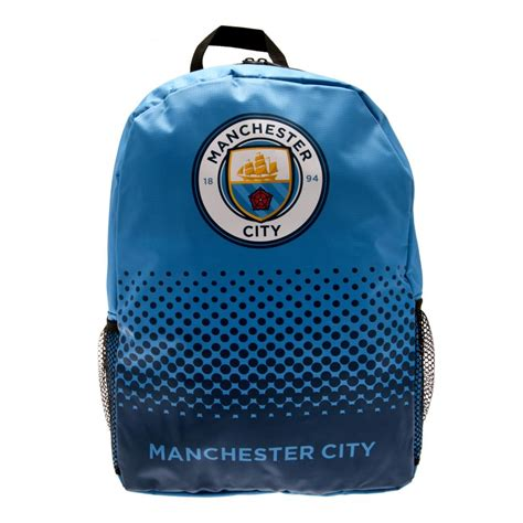 Backpack Manchester City Dongker official manchester city f c backpack school soccer