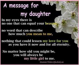 a message for my daughter pictures photos and images for